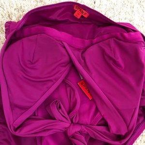 733ee3315c1 SPANX Swim | Nwt Shapewear Berry Halter Onepiece Suit | Poshmark